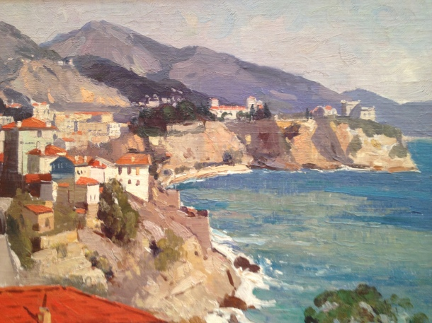 Will Ashton, Monaco, c 1926, oil on canvas board, Private Collection. Courtesy of Castlemaine Art Gallery and Historical Museum