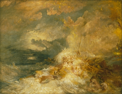 JMW Turner, Disaster at Sea, 1838, Tate Gallery