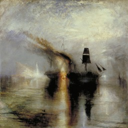 JMW Turner, Burial at Sea, 1842. Tate Gallery