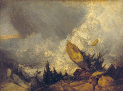 JMW Turner, The Fall of an Avalanche in the Grisons, 1810. Tate Gallery
