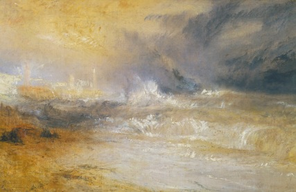 JMW Turner, Waves Breaking at Margatew, 1840. Tate Gallery