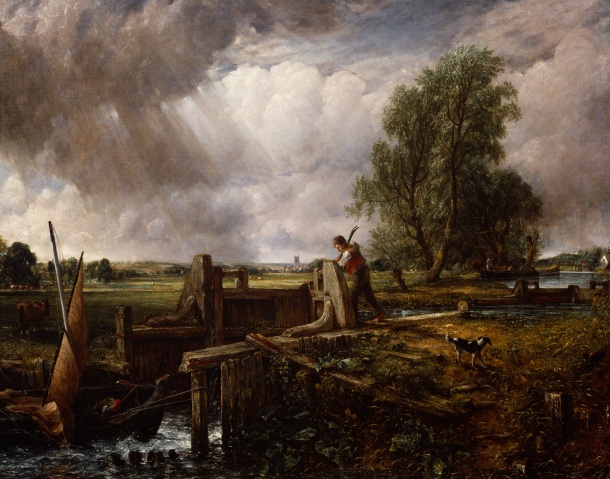 John Constable, R.A. A Boat passing a Lock 1826 Oil on canvas 101.60 x 127.0 cm Photo credit: © Royal Academy of Arts, London; Photographer: Prudence Cuming Associates Limited