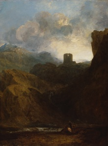 J.M.W. Turner Dolbadern Castle 1800 Oil on canvas 119.40 x 90.20 cm Photo credit: © Royal Academy of Arts, London;